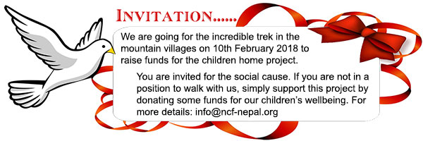 Newsletter – Walk for Kids 2018 :: NCF-Nepal.org