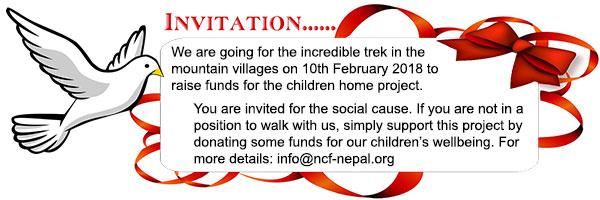 Newsletter – Walk for Kids 2018 :: NCF-Nepal.org